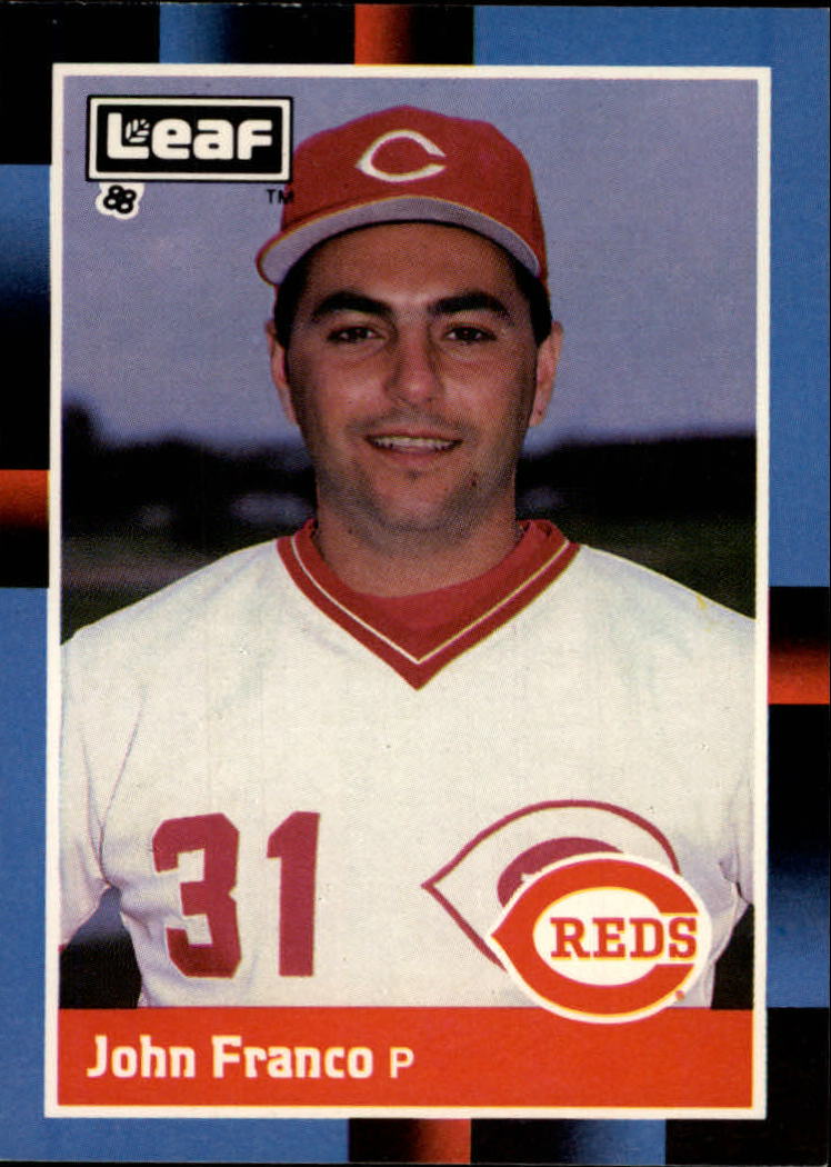 1988 Leaf/Donruss Baseball Cards       079      John Franco