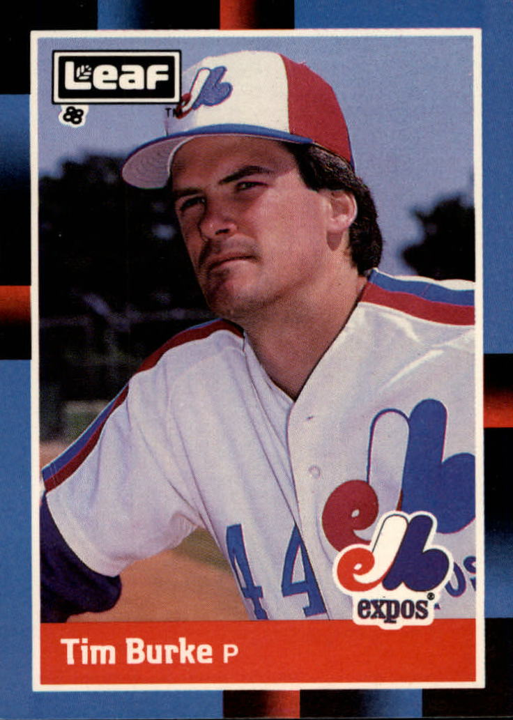 1988 Leaf/Donruss Baseball Cards       084      Tim Burke
