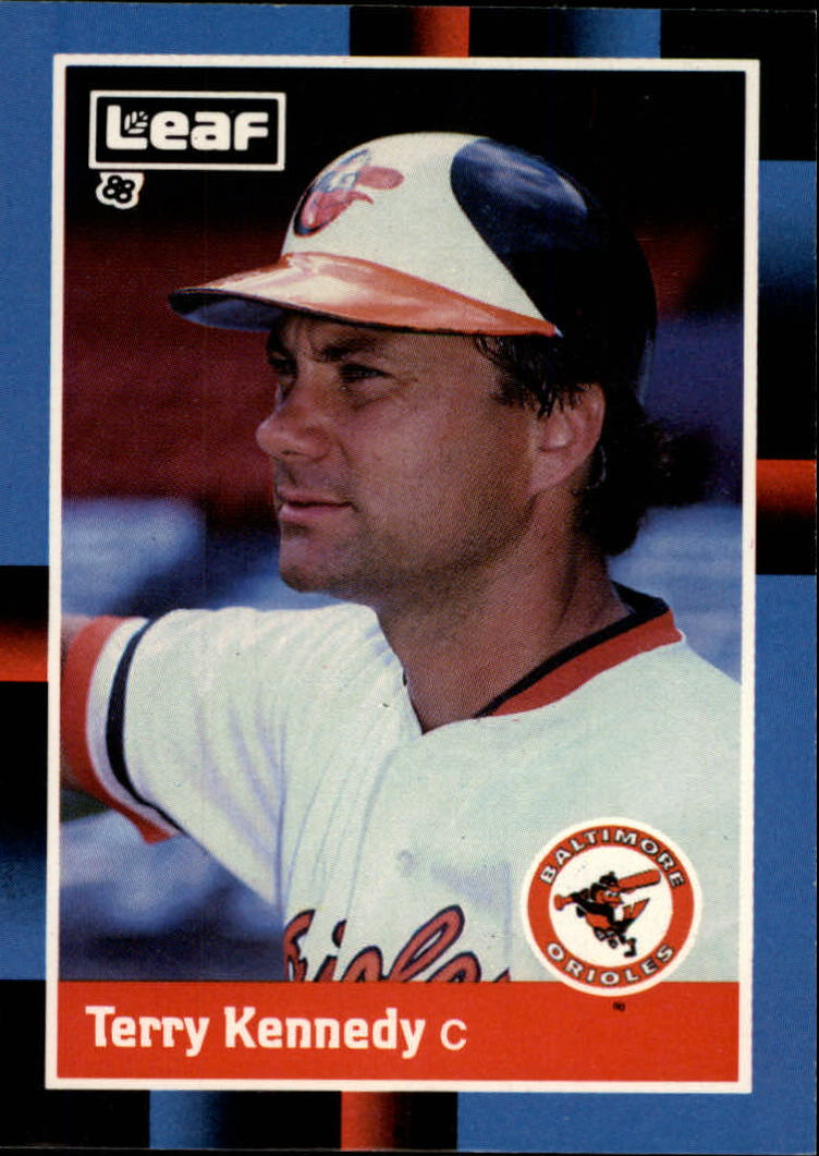 1988 Leaf/Donruss Baseball Cards       099      Terry Kennedy