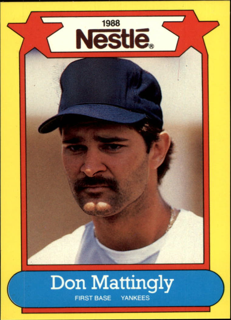 1988 Nestle Baseball Cards     015      Don Mattingly