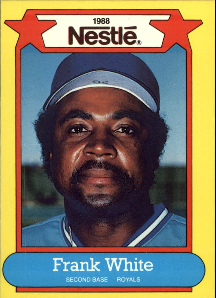 1988 Nestle Baseball Cards     029      Frank White