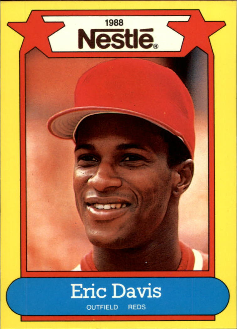 1988 Nestle Baseball Cards     003      Eric Davis