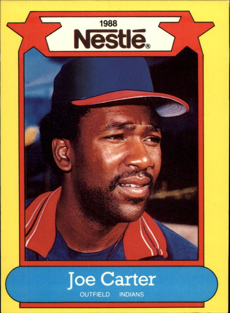 1988 Nestle Baseball Cards     036      Joe Carter