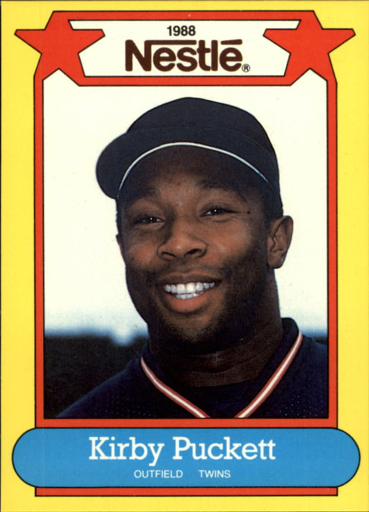 1988 Nestle Baseball Cards     039      Kirby Puckett