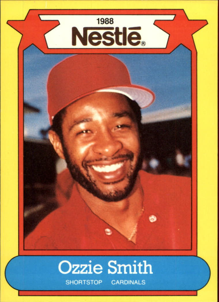 1988 Nestle Baseball Cards     005      Ozzie Smith