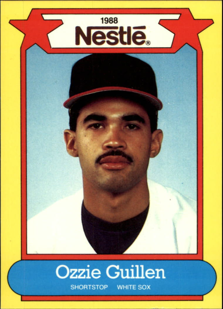 1988 Nestle Baseball Cards     007      Ozzie Guillen