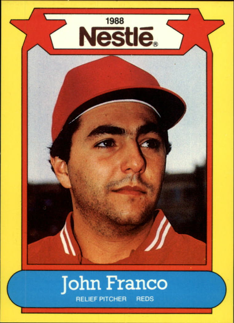 1988 Nestle Baseball Cards     008      John Franco