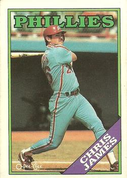1988 O-Pee-Chee Baseball Cards 001      Chris James
