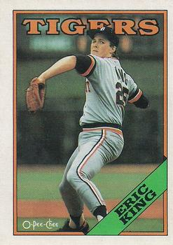 1988 O-Pee-Chee Baseball Cards 108     Eric King