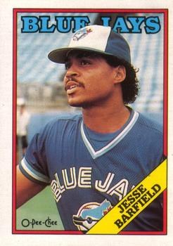 1988 O-Pee-Chee Baseball Cards 140     Jesse Barfield