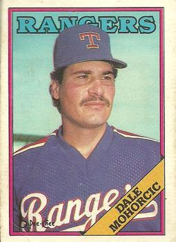 1988 O-Pee-Chee Baseball Cards 163     Dale Mohorcic