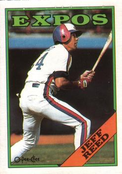 1988 O-Pee-Chee Baseball Cards 176     Jeff Reed