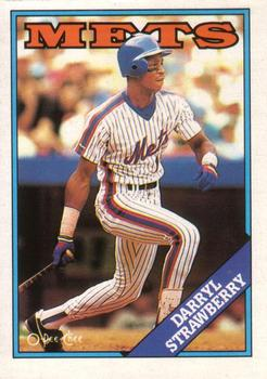 1988 O-Pee-Chee Baseball Cards 178     Darryl Strawberry