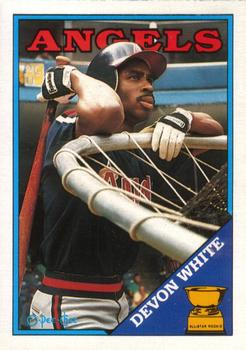 1988 O-Pee-Chee Baseball Cards 192     Devon White