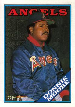 1988 O-Pee-Chee Baseball Cards 204     Donnie Moore