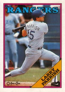 1988 O-Pee-Chee Baseball Cards 226     Larry Parrish