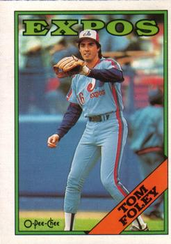 1988 O-Pee-Chee Baseball Cards 251     Tom Foley
