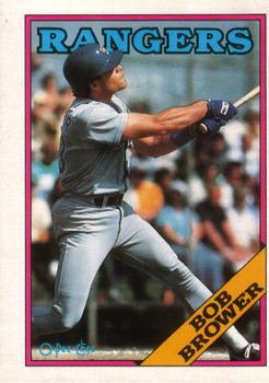 1988 O-Pee-Chee Baseball Cards 252     Bob Brower