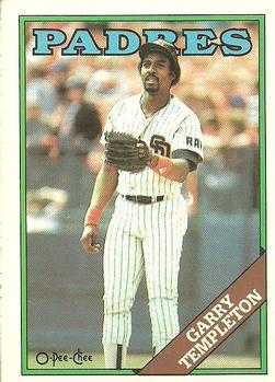 1988 O-Pee-Chee Baseball Cards 264     Garry Templeton