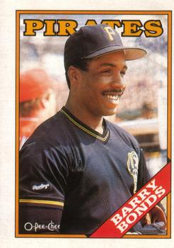 1988 O-Pee-Chee Baseball Cards 267     Barry Bonds
