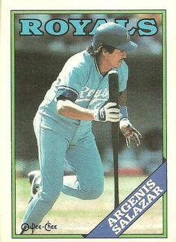 1988 O-Pee-Chee Baseball Cards 029      Angel Salazar