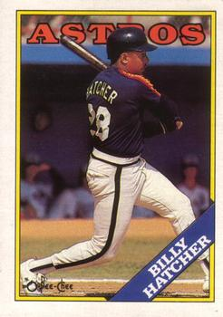 1988 O-Pee-Chee Baseball Cards 306     Billy Hatcher