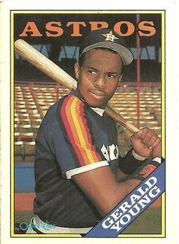 1988 O-Pee-Chee Baseball Cards 368     Gerald Young