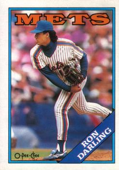 1988 O-Pee-Chee Baseball Cards 038      Ron Darling