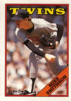1988 O-Pee-Chee Baseball Cards 389     Mike Smithson