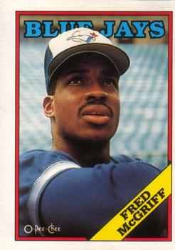 1988 O-Pee-Chee Baseball Cards 395     Fred McGriff