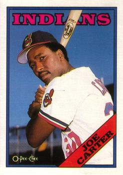 1988 O-Pee-Chee Baseball Cards 075      Joe Carter