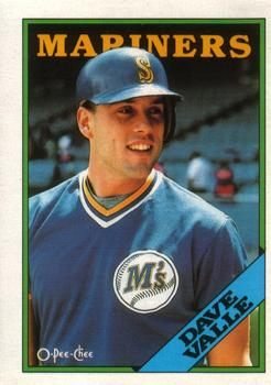 1988 O-Pee-Chee Baseball Cards 083      Dave Valle