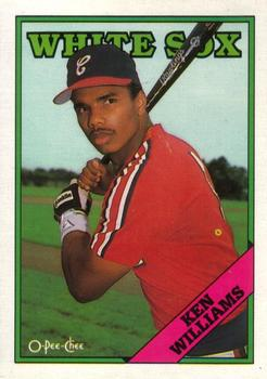 1988 O-Pee-Chee Baseball Cards 092      Ken Williams RC