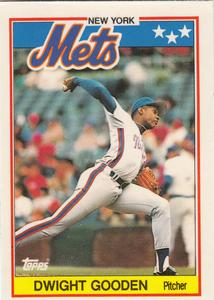 1988 Topps UK Minis     027      Dwight Gooden