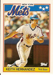 1988 Topps UK Minis     033      Keith Hernandez