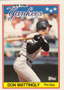 1988 Topps UK Minis     045      Don Mattingly
