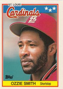 1988 Topps UK Minis     072      Ozzie Smith