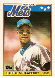 1988 Topps UK Minis     076      Darryl Strawberry