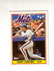 1988 Topps UK Minis Tiffany     011      Gary Carter