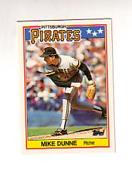 1988 Topps UK Minis Tiffany     021      Mike Dunne