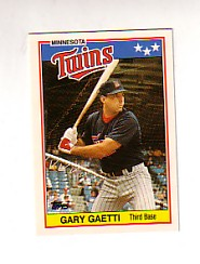 1988 Topps UK Minis Tiffany     025      Gary Gaetti