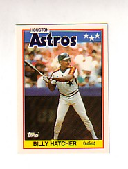 1988 Topps UK Minis Tiffany     030      Billy Hatcher