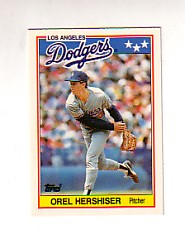 1988 Topps UK Minis Tiffany     034      Orel Hershiser