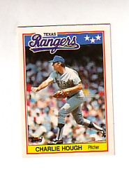 1988 Topps UK Minis Tiffany     036      Charlie Hough