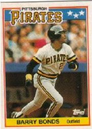 1988 Topps UK Minis Tiffany     005      Barry Bonds
