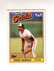 1988 Topps UK Minis Tiffany     053      Eddie Murray