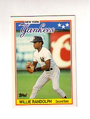 1988 Topps UK Minis Tiffany     059      Willie Randolph