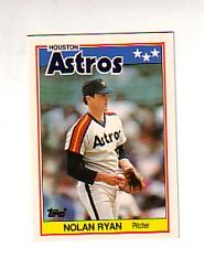 1988 Topps UK Minis Tiffany     062      Nolan Ryan