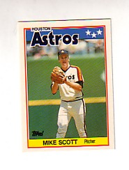 1988 Topps UK Minis Tiffany     068      Mike Scott