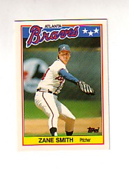 1988 Topps UK Minis Tiffany     073      Zane Smith